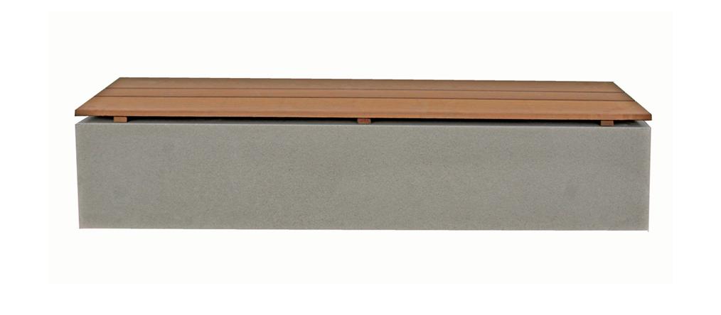 Top Maillith Outdoor Sitzbank / Sitzblöcke aus Polymer Beton für #EQ_31